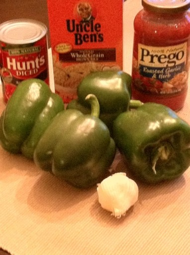 Stuffed Peppers Ingredients