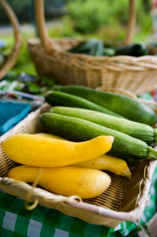 Summer squash is plentiful during the month of July. The farmers ...