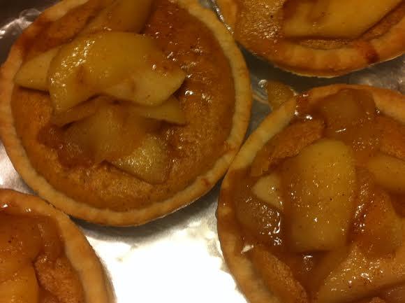 Mini Butternut Squash Pie