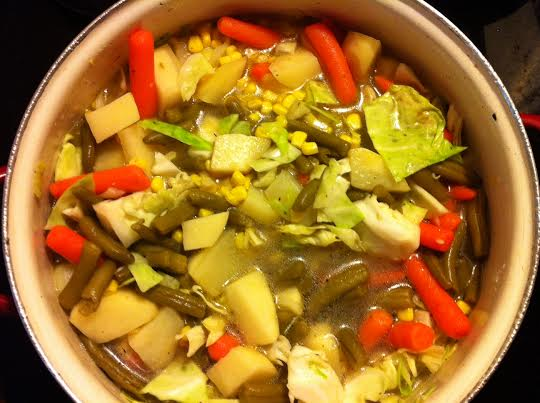 Hearty Vegetable Soup1
