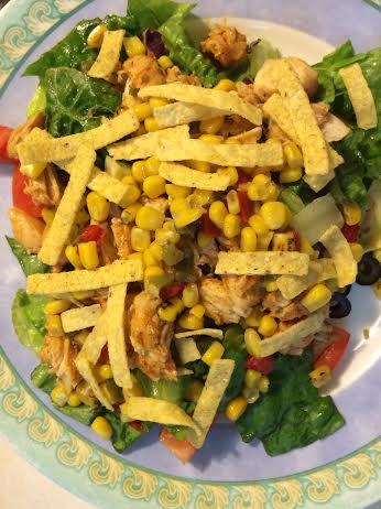 Citrus-lime southwest salad