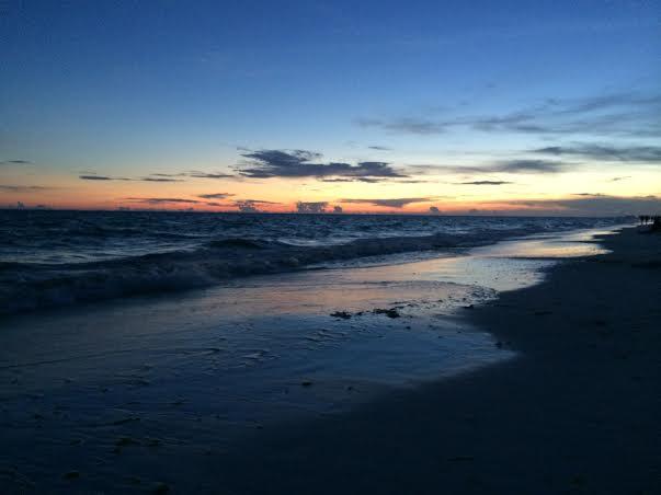 Destin Beach at Sundown