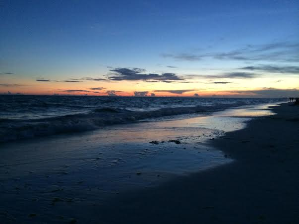 Destin Beach at Sundown