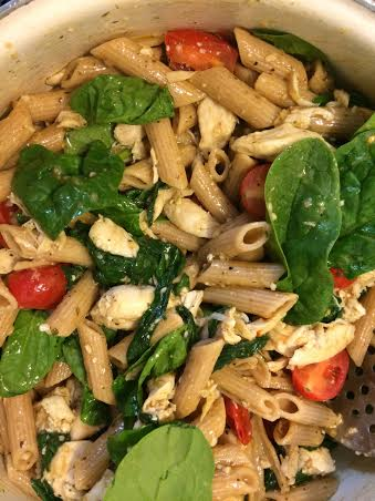 Sunday Dinner Series Chicken Florentine Penne Pasta Eat Well And