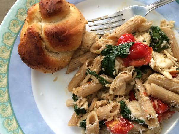 Chicken Florentine Penne Pasta2