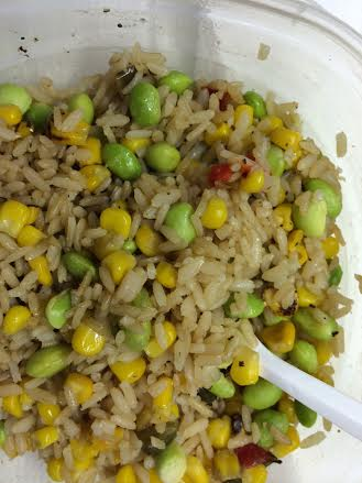Rice and Vegetables